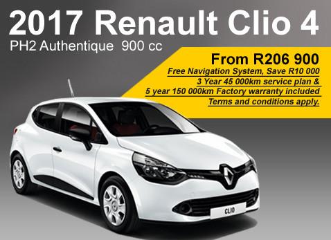 2017 Renault Clio 4 PH2 Authentique 900 cc