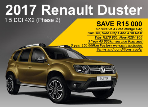 2017 Renault Duster 1.5 DCI 4x2 Phase 2
