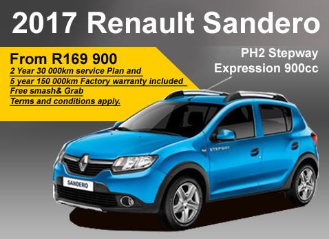 2017 Renault Sandero PH2 Stepway Expression 900cc