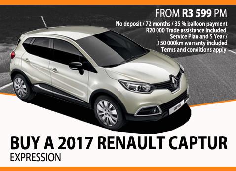 Buy a 2017 Renault Captur Expression