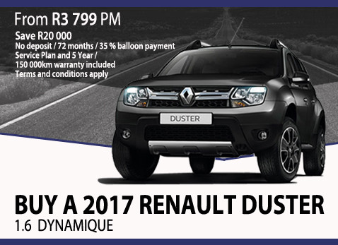 Buy a 2017 Renualt Duster 1.6 Dynamique