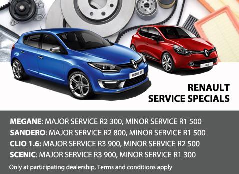 Renault Service Specials