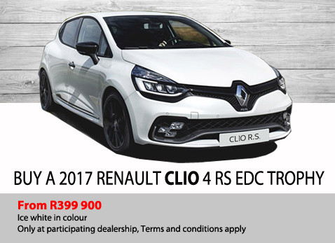 Buy a 2017 Renault Clio 4 RS EDC Trophy