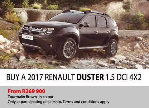 Buy a 2017 Renault Duster 1.5 DCI 4X2