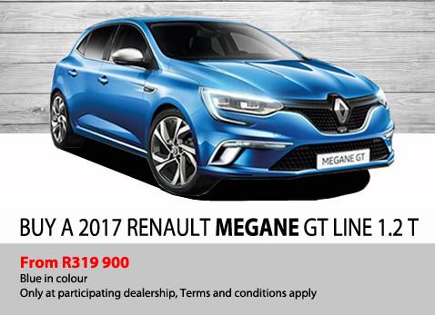Buy a 2017 Renault Megane GT Line 1.2T