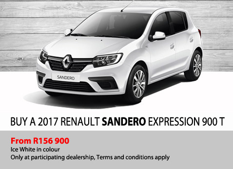 Buy a 2917 Renault Sandero Expression 900T