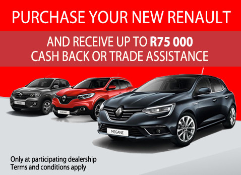 Purchase your New Renault