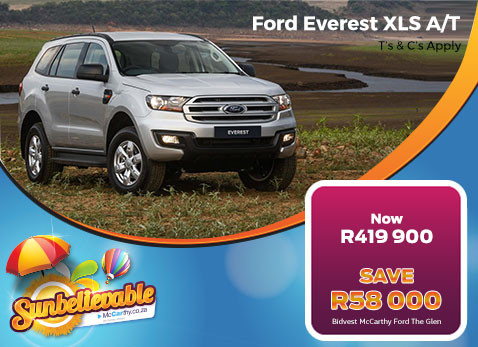 2017 Ford Everest XLS A/T