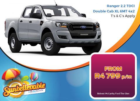2017 Ranger 2.2 TDCI Double Cab XL 6 MT 4X2