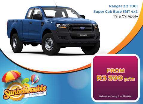2017 Ranger 2.2 TDCI Super Cab Base 5MT 4X2