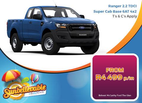 2017 Ranger 2.2 TDCI Super Cab Base 6AT 4X2