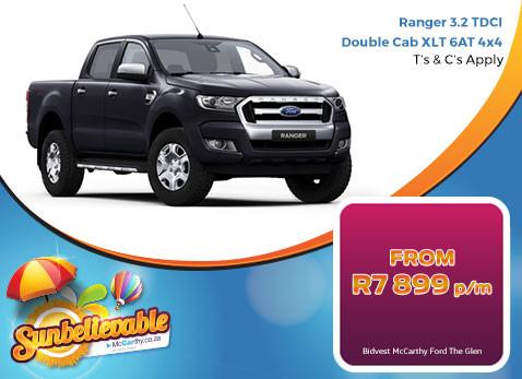 2017 Ranger 3.2 TDCI Double Cab XLT 6AT 4X4