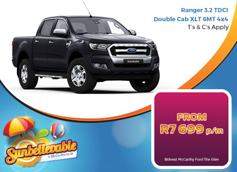 2017 Ranger 3.2 TDCI Double Cab XLT 6MT 4X4