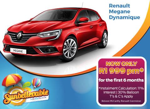 2017 Renault Megane Dynamique
