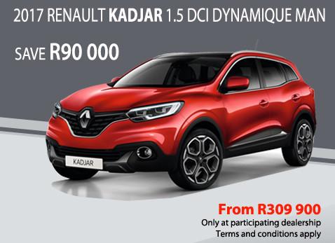 2017 Renault Kadjar 1.5 DCI Dynamique MAN