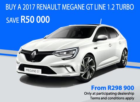 2017 Renault Megane GT Line 1.2 Turbo