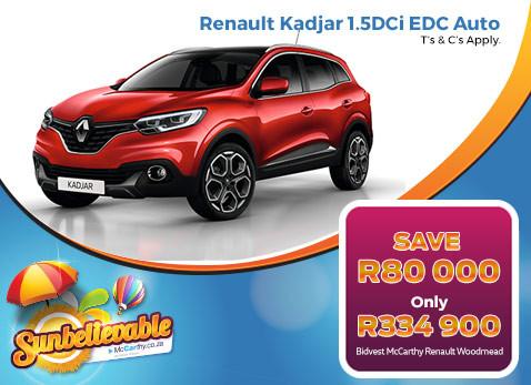 2017 Renault Kadjar 1.5 DCi EDC Auto