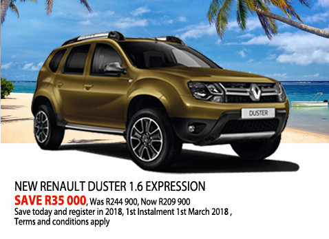 New Renault Duster 1.6 Expression