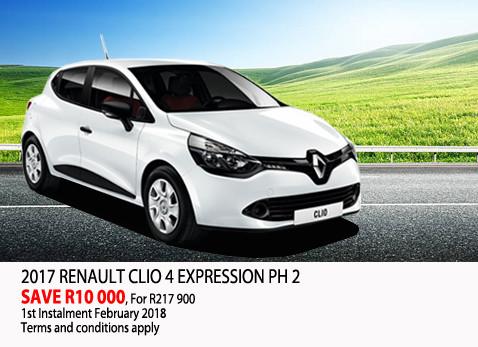 2017 Renault Clio 4 Expression PH2
