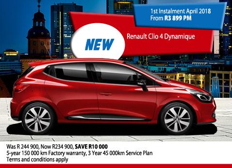 New Renault Clio 4 Dynamique
