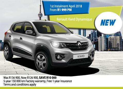 New Renault KWID Dynamique