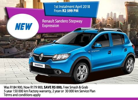 New Renault Sandero Stepway Expression