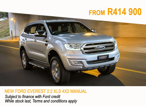 New Ford Everest 2.2 XLS 4X2 Manual