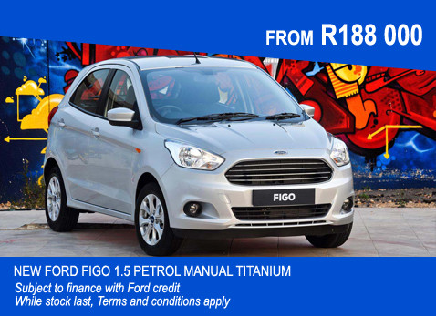 New Ford Figo 1.5 Petrol Manual Titanium
