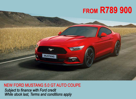 New Ford Mustang 5.0 GT Auto Coupe
