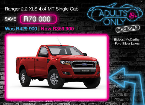 Ranger 2.2 XLS 4X4 MT Single Cab