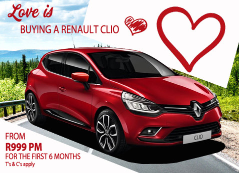 Love is Buying a Renault Clio