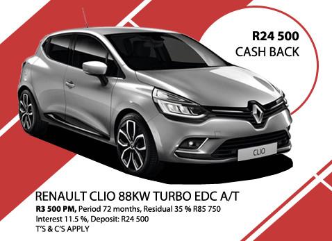 Renault Clio 88kW Turbo EDC A/T