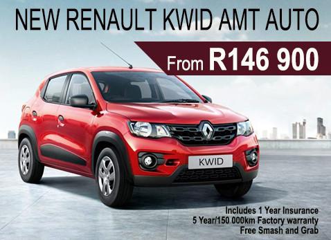 New Renault KWID AMT Auto