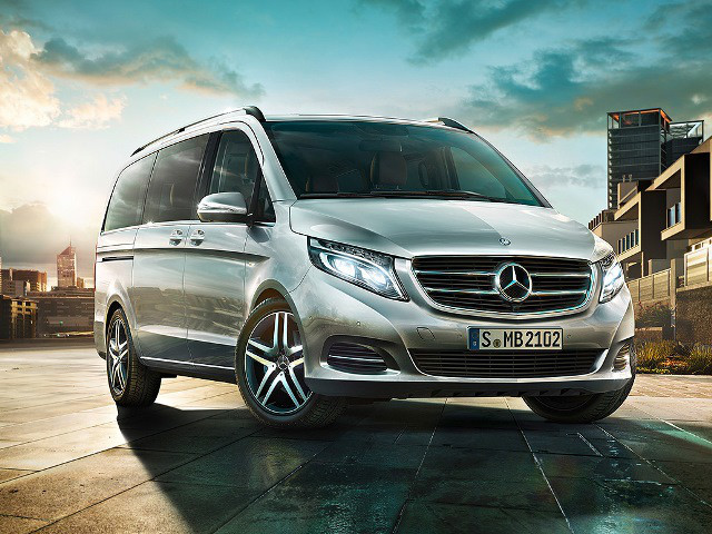 Mercedes benz v class v220 cdi dsl mpv at for Mccarthy mercedes benz